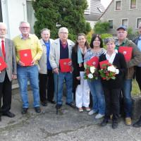 SPD-Ortsverein Reichenberg ehrte langjährige Mitglieder